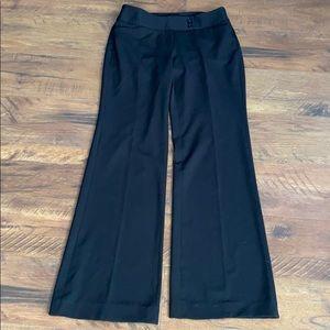 White House black market black dress pants 2s